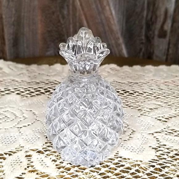 Vintage Lead Cut Crystal Pineapple